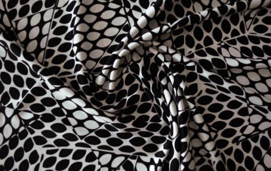 Badeware weiß schwarz  Muster