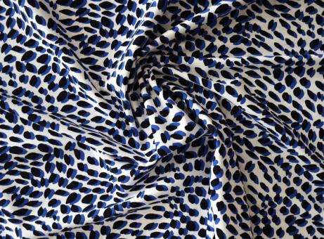 Badeware blau weiß schwarz