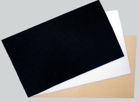 Abstandsgewirk 2,5mm weiß Platte 0,20m x 0,35m