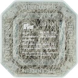Stecknadeln ST 0,50 x 30 mm silberfarbig