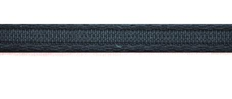Bügelband schwarz 9mm