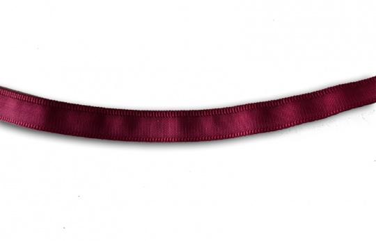 Bügelband rot burgund  10mm