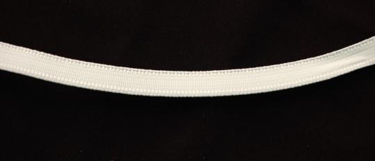 Bügelband Farbrichtung mandelcreme 9mm