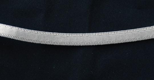 Bügelband grau 9mm