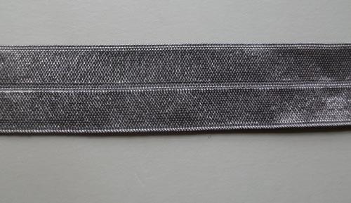 Paspelband grau taupe 20 mm