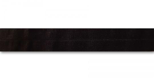 Paspelband schwarz matt  18mm