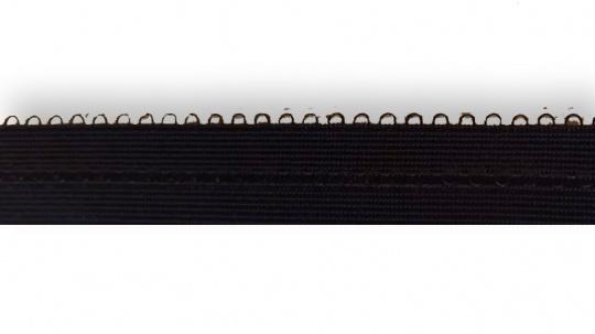 Paspelband dunkel blau mit Bogen 15mm