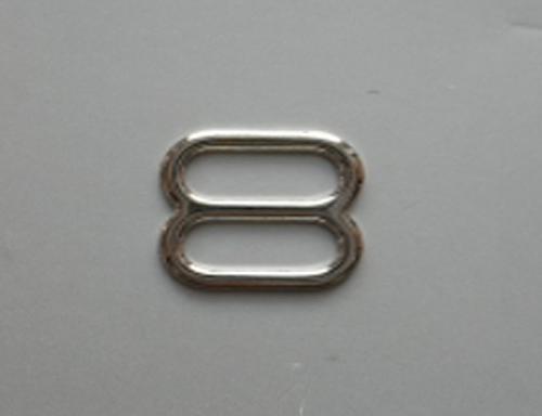 Schieber metall silber 10,5mm
