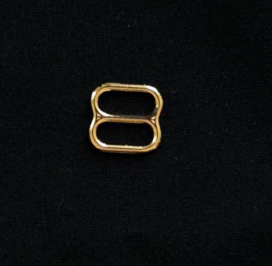 Schieber metall gold 8mm