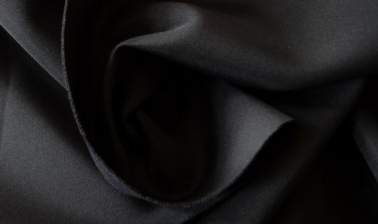 Abstandsgewirk 1mm  schwarz elastisch 40 x 70 Platte