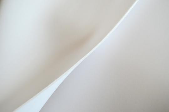 Schaumstoff dünn 1,5 mm weiß unelastisch 30 x 70 Platte