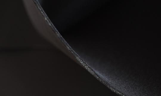 Schaumstoff dünn 1,5 mm schwarz unelastisch 30 x 70 Platte