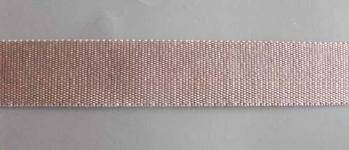 Trägerband braun taupe 15mm
