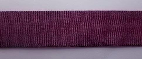 Trägerband  Farbrichtung aubergine18mm