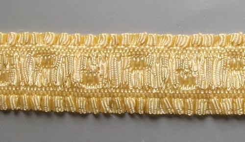 Trägerband gelb 15mm