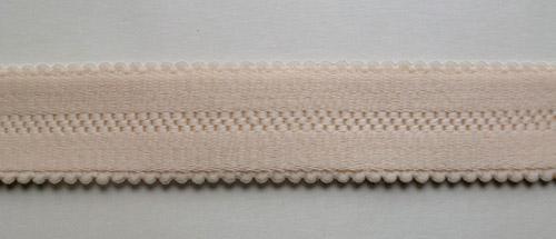 Trägerband haut gemustert 20mm