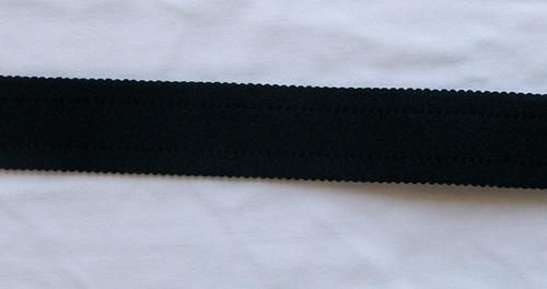 Trägerband schwarz 23mm