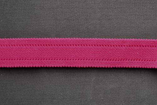 Trägerband pink gepolstert 24mm