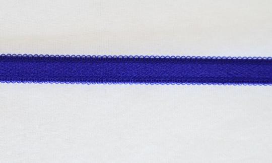 Trägerband blau kobalt Bogen 13mm