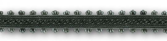 Trägerband grün grau Bogen 8-13mm
