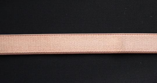 Trägerband altrosa puder dunkel  glatt glanz 12mm