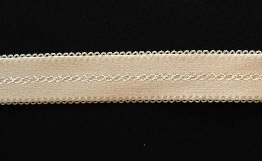 Trägerband  haut-rosa 20-24mm Muster kleine Schlaufen
