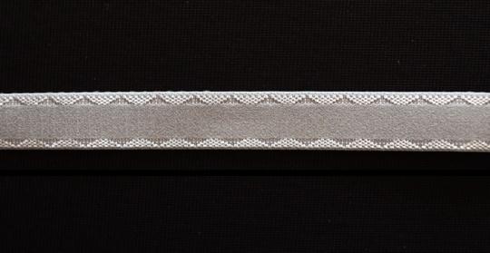Trägerband rötliches grau 15mm