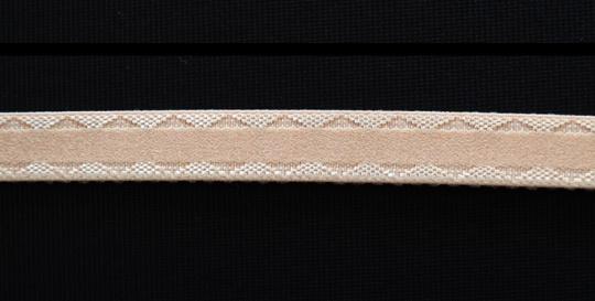 Trägerband gelbliches rosa 12mm
