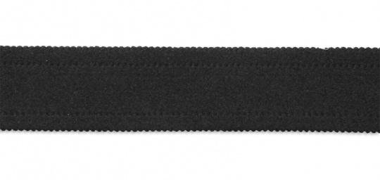 Trägerband schwarz  gepolstert 29mm