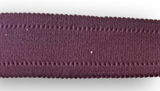 Trägerband lila mit Bögelchen  gepolstert 30mm