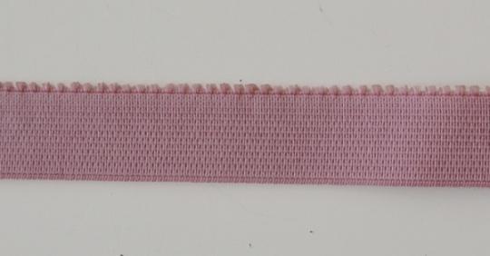 Unterbrustgummi rosa alt dunkel 18mm