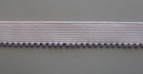 Unterbrustgummi graubraun 12mm