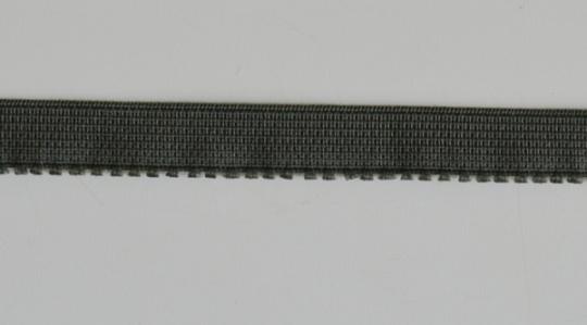 Unterbrustgummi grau 10mm