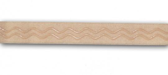 Unterbrustgummi haut silikonbeschichtet 20mm