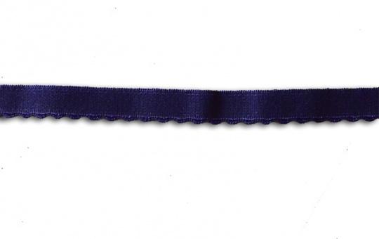 Unterbrustgummi blau-lila 10-11mm mit Bögen