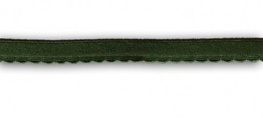 Unterbrustgummi grün 10-11mm mit Bögen