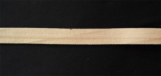 Unterbrustgummi haut silikonbeschichtet 14mm