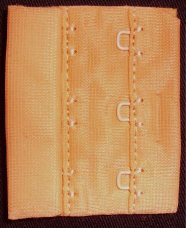 Verschluss orange 55mm gepackt als Stück