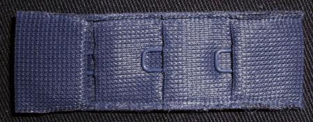 Verschluss blau dunkel 20mm