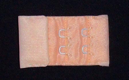 Verschluss rosa apricot zart 30mm gepackt als Kurzwarenpaket BH M