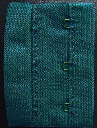 Verschluss grün petrol 65mm
