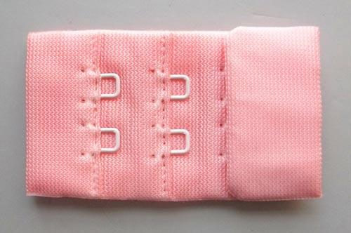 Verschluss rosa lachs  30mm gepackt als Stück