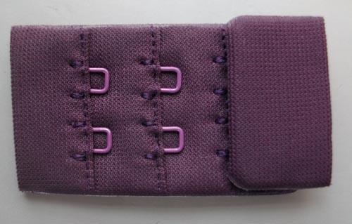 Verschluss  Farbrichtung lila dunkel 30mm