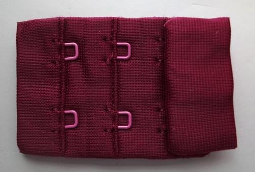 Verschluss rot dunkel 35mm gepackt als Stück