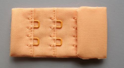 """Verschluss  Farbrichtung  """"orange"""" 30mm"""