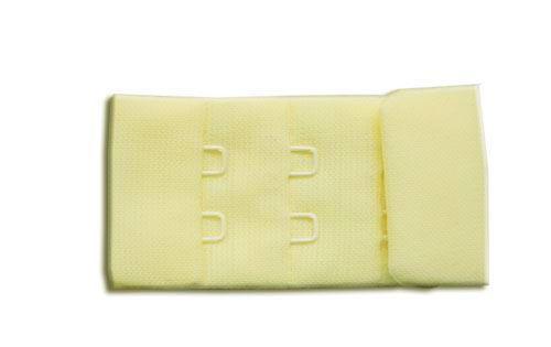 Verschluss Farbrichtung gelblich creme 30mm