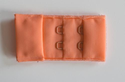Verschluss lachs rosa orange 30mm