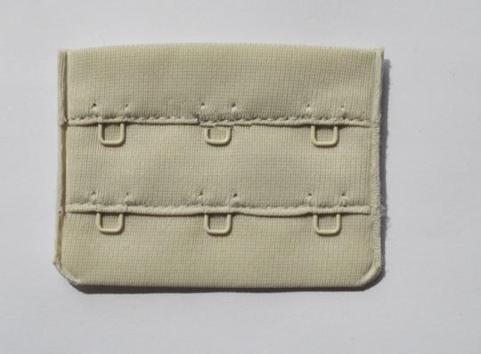 Verschluss perlgrau 55mm gepackt als Stück