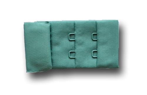 Verschluss Farbrichtung eisgrün 30mm