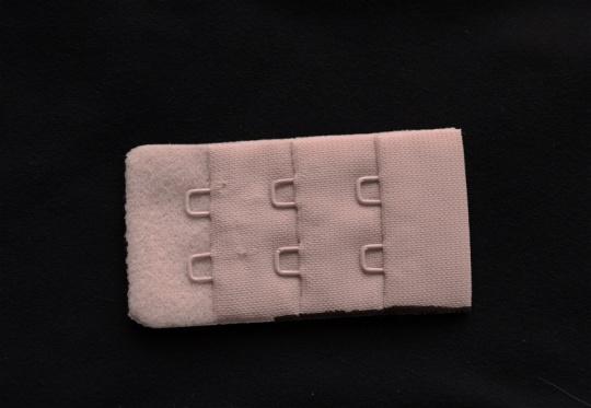 Verschluss rosa warm 30mm gepackt als Kurzwarenpaket BH M